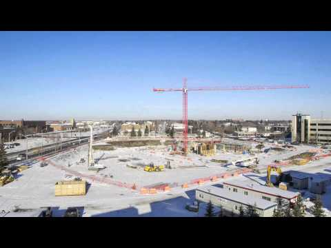 Construction of the Centre for Applied Technologies: fall 2013