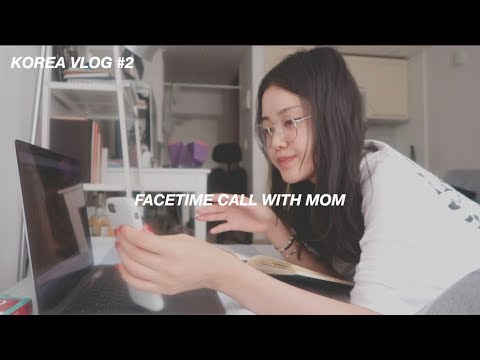 Korea Vlog | FaceTime Call With Mom, Trying To Cook Korean Food, Heart To Heart Talk