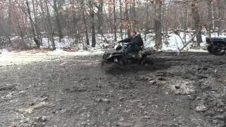 10. 2015 Polaris sportsman 570 mudding