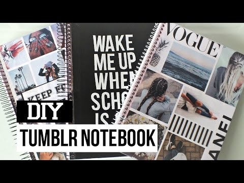 frases tumblr - Back to school: DIY Capas para Cadernos  Tumblr Inspired