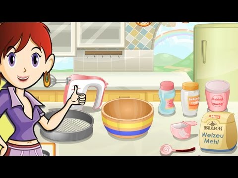 Sara's Cooking Class - Rainbow Muffins - Cooking Game