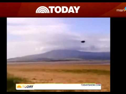 breaking news ufo sighting on today show
