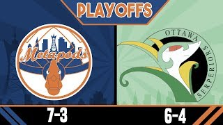 PLAYOFFS TIME! New York Metapods vs Ottawa Serperiors! aDrive Army Battle League W11 S4 by aDrive