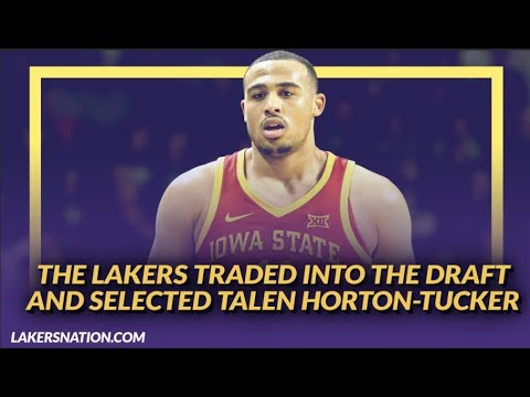 Video: Lakers NewsFeed: Details on Lakers Drafting Talen Horton-Tucker with the 46th Overall Pick
