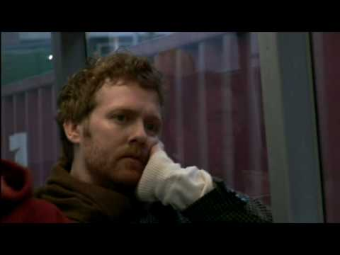 Once - 2006, an Irish film about a busker who meets a girl. Made on a shoestring budget, it's a fantastic love story with great music. This is the opening scene.