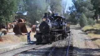 Jamestown (CA) United States  City pictures : Sierra No 3 Steam Train, Railtown 1897 Jamestown California 07/03/2010