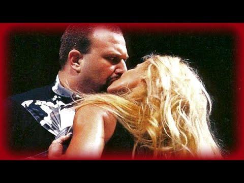 Trish Stratus kisses Buh Buh Ray Dudley: RAW, Apr. 17, 2000