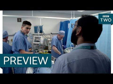 Attack victims arrive at hospital - Hospital: Series 2 Episode 1 Preview - BBC Two