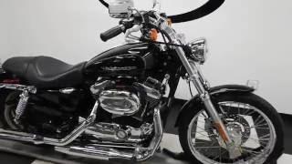 9. 2007 Harley Davidson XL1200C Sportster 1200 Custom– used motorcycles  for sale– Eden Prairie, MN