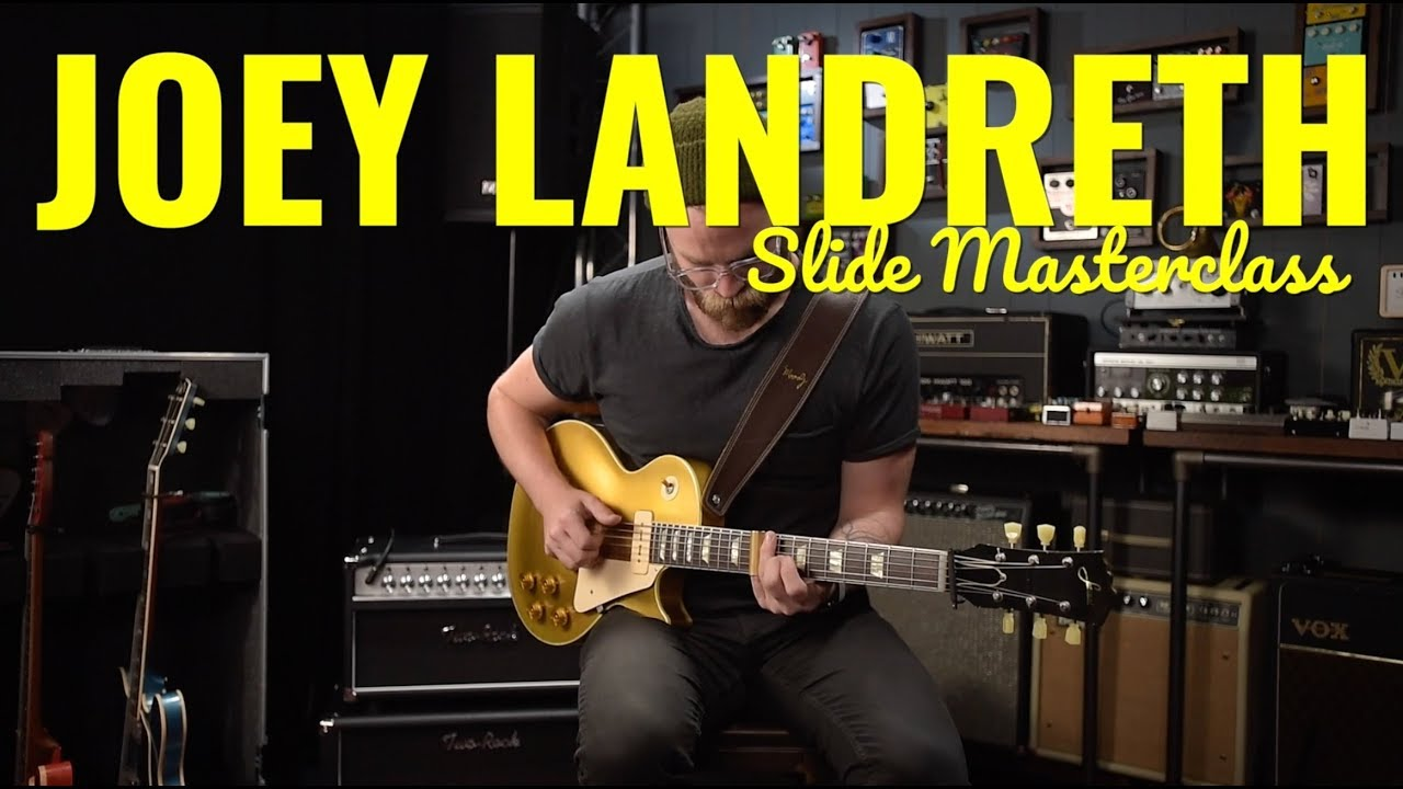 Joey Landreth Electric Slide Guitar Masterclass – The Guitar Magazine