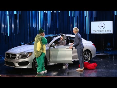 Mercedes - Ellen had a huge surprise for some lucky members of her audience. Check out the fierce competition, and the big reveal!