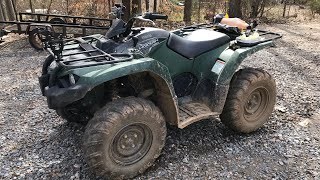 10. 2018 Yamaha Kodiak 450 700 Mile Review