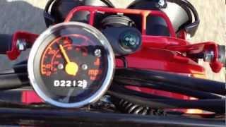 5. 0-40 MPH 2009 Honda Ruckus