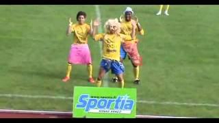 Waka-celebración de un gol