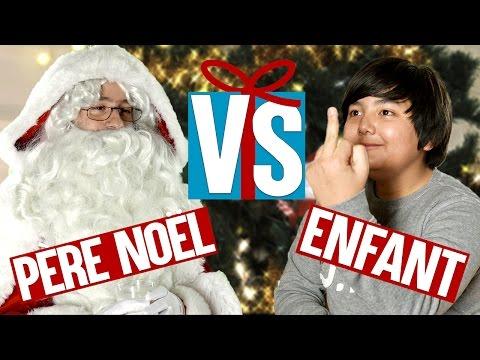 Père Noël VS Enfant