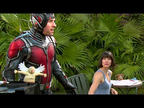 On the Set of ANT-MAN (10 minutes - Behind the Scenes)