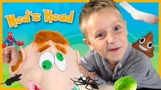 Video What's in Ned's Head Fun Family Game Time with Play-Doh Surprise Toys by KIDCITY MP3, 3GP, MP4, WEBM, AVI, FLV Juni 2018