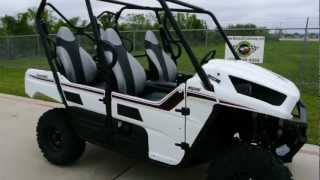 8. 2013 Kawasaki Teryx 4 EPS in Bright White! 4 Passenger Teryx!