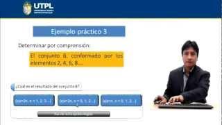 UTPL TEORÍA DE CONJUNTOS I [(ASISTENCIA GERENCIAL Y RELACIONES PÚBLICAS) (MATEMÁTICA BÁSICA) ]
