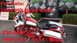 7. 2006 Harley Davidson Road Glide for Sale