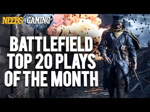 Battlefield Top 20 Plays of the Month (видео)