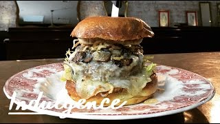 The Most Indulgent Burger Ever (It's Stuffed With Truffle Butter and Topped With Foie Gras)