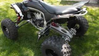 4. 2009 Yamaha YFZ450R SE