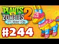 Plants vs. Zombies 2: It's About Time - Gameplay Walkthrough Part 244 - Pinata Party Extreme!