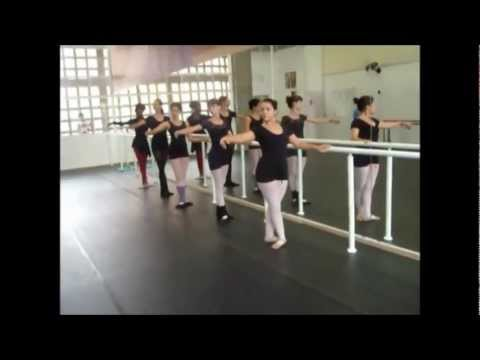 Barra Pliés - Método Royal Ballet 5°grau
