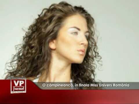 O câmpineancă, în finala Miss Univers România