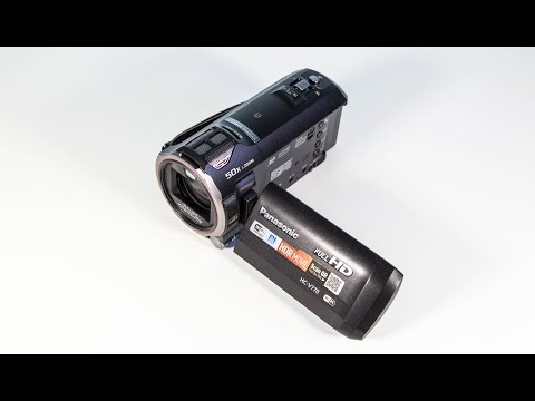 Panasonic HC-V770 Camcorder Hands-On - Review