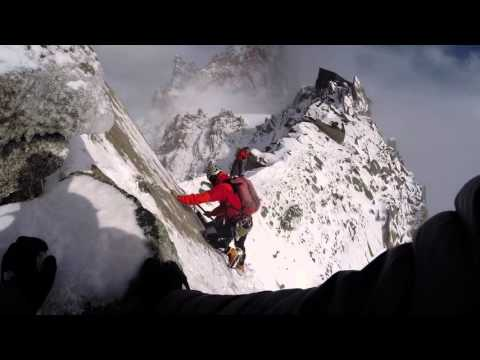 Chamonix Alpine Mountaineering - September 2015 (видео)