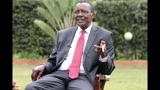 Exclusive interview with Chief Justice David Maraga by NTV's Olive Burrows