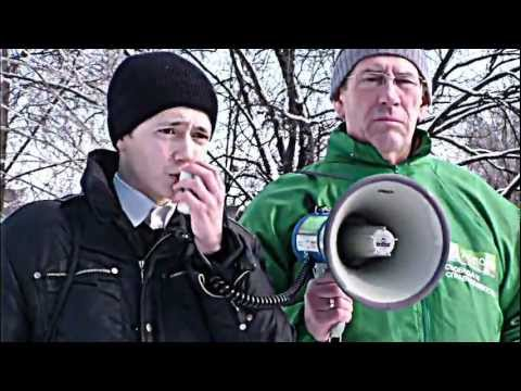 Оккупай педофиляй Vs социальный марш Уфа