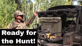 3. Outfitting my Can-am Maverick Trail for Hunting & Cold Weather Riding