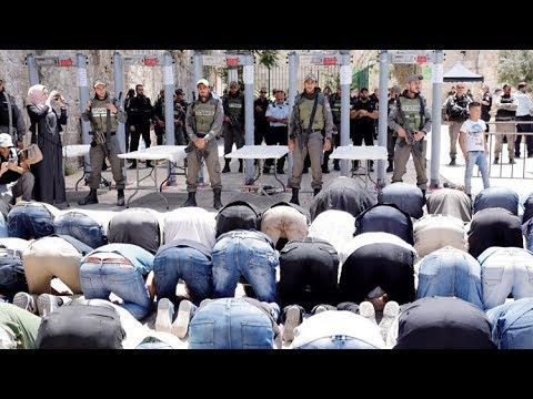مصر العربية | إسرائيل تزيل البوابات الإلكترونية على مداخل المسجد الأقصى