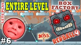Video Chase & Dad play RED BALL 4! BOX FACTORY ENTIRE LEVEL w/ BOSS! (THE END Part 6 Gameplay) MP3, 3GP, MP4, WEBM, AVI, FLV Juni 2019