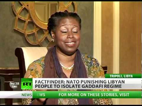 'Libya war driven by O.I.L.: Oil, Israel & Logistics' - McKinney to RT