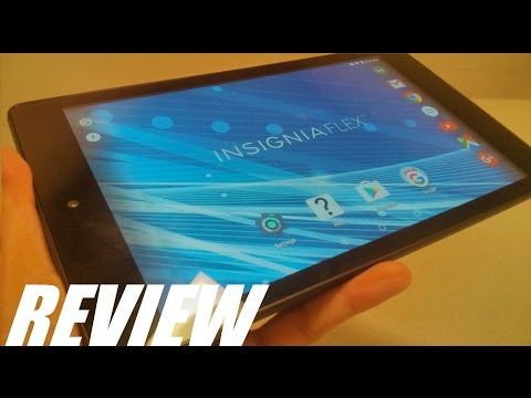 REVIEW: Insignia Flex 8 - Android 6.0 Quad-Core Tablet!