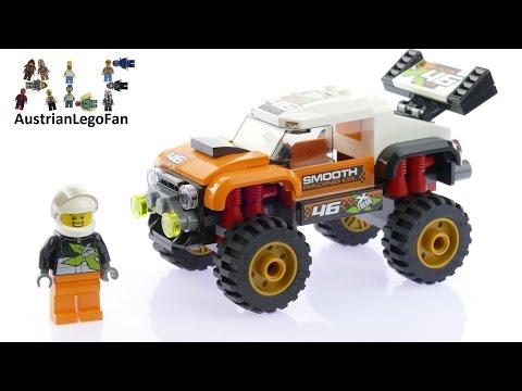 Vidéo LEGO City 60146 : Le 4x4 de compétition