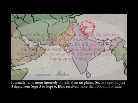 A short animation on the weather events that led to the Jammu and Kashmir floods.
