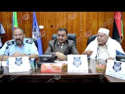 تنسيق العمل بين لجنة أزمة الوقود ومديريات أمن الجبل الغربي