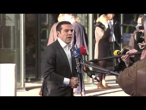 Δηλώσεις του Πρωθυπουργού κατά την άφιξή του στο Γκέτεμποργκ