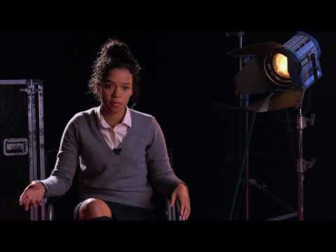 Down a Dark Hall - Itw Taylor Russell official video