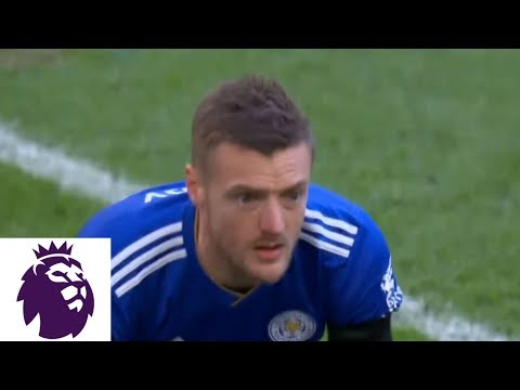 Video: Jamie gets subbed in, immediately misses PK for Leicester v. Tottenham | Premier League | NBC Sports
