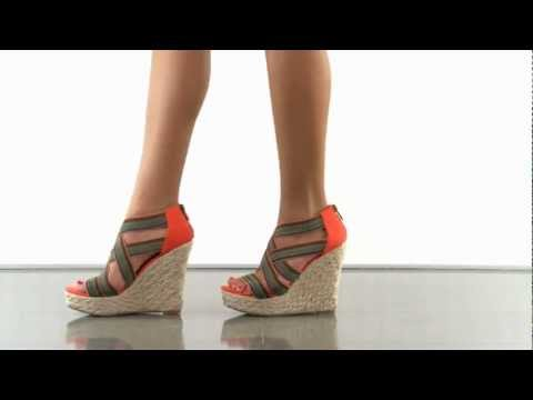 multiple heels and shoes - To purchase please visit: http://www.heels.com/womens-shoes/dealmaker-gore-orange-multi.html A contract with this style will state that you will always look ...