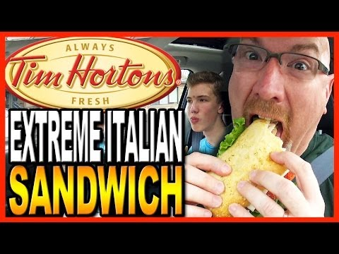 Tim - Tim Hortons Crispy Chicken Sandwich - http://youtu.be/X4Aw0Yw1-Cs Tim Hortons New Beef Lasagna Casserole - http://youtu.be/8VYD_GGPvPk Tim Hortons English Muffin Breakfast Sandwich - http://youtu....