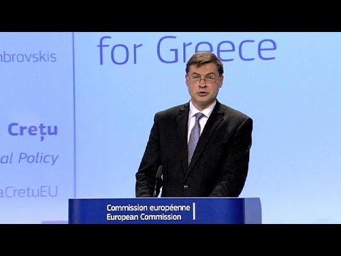 Κομισιόν: Δάνειο γέφυρα και αναπτυξιακό πακέτο 35 δισ. ευρώ για την Ελλάδα