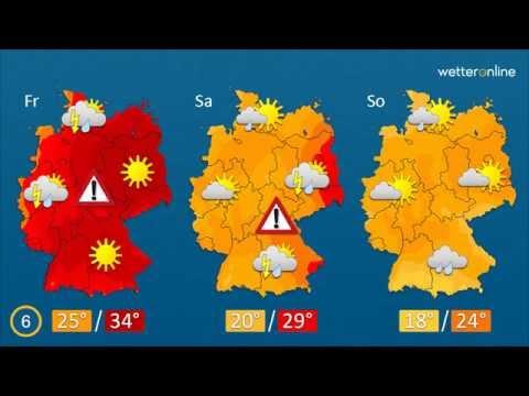 wetteronline.de: Wetter in 60 Sekunden (21.06.2016)
