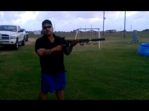 300 AAC Blackout suppressed full auto